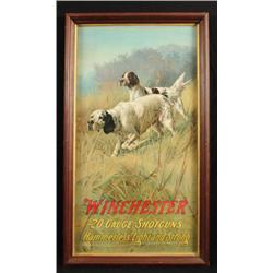 Winchester Model 12 Shotguns Advertising Poster