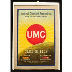UMC Club Shotgun Shells Advertising Poster