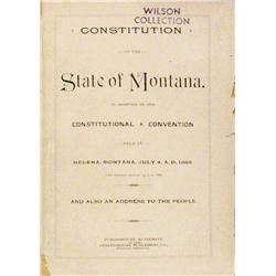 (the original) Constitution of the State of Montana…..
