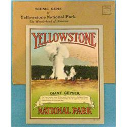 Scenic Gems of Yellowstone National Park, Spokane, 1910 ca,