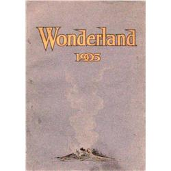 Wheeler, Olin, Wonderland 1905, good cond. in original wraps, 119 pp.