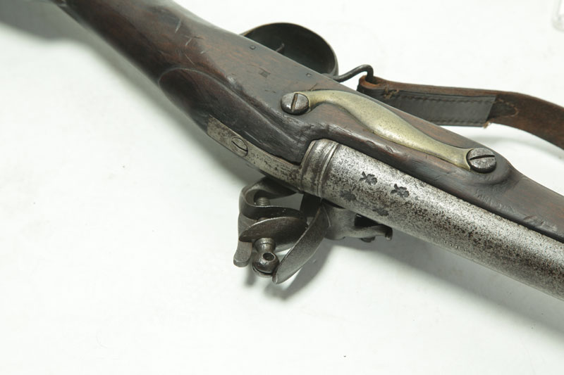 "Auctions In Ohio >> BRITISH BROWN BESS"" MUSKET AND BAYONET."""