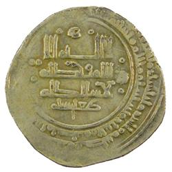 GREAT SELJUQ: Toghanshah, 1072-1082+, AV (pale) dinar (3.54g), NM, ND