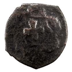 CIVIC COPPER: Anonymous, ca. 17th century, AE pul (2.15g), Tashkent, ND
