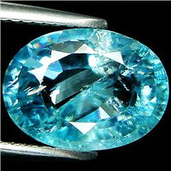 5.22ct Oval Cut Light Blue Paraiba Zircon (GEM-33552)