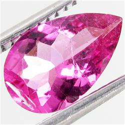 1.43ct Hot Pink Tourmaline Pear (GEM-38798)