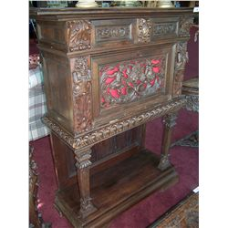 Antique European Carved Chest.