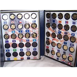 50 States Commemorative  Quarters. Vol. 1 & 2.