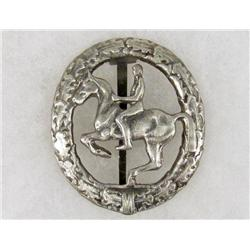 GERMAN NAZI HORSE RIDING SPORTS BADGE