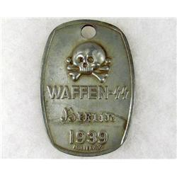 GERMAN NAZI WAFFEN SS TAG