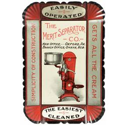 The Merit Separator Co. Tin Tip Tray