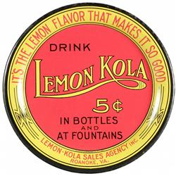 Lemon Kola Sales Agency Inc. Tin Tip Tray