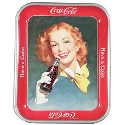 1948 Coca Cola Tin Serving Tray
