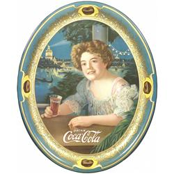 1909 Coca Cola Tin Serving Tray