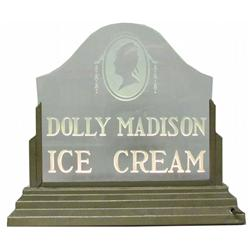 Dolly Madison Ice Cream Light Up Sign