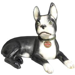The Bryant Pup Paper Mache Display Dog