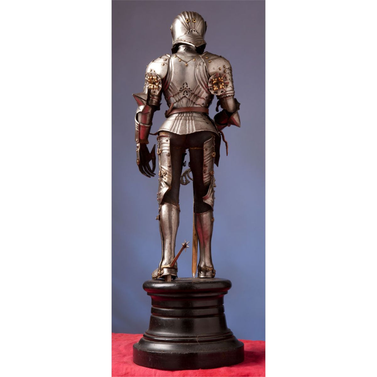 Fine Miniature Suit Of Armor In The German Gothic Style Total 1 Items