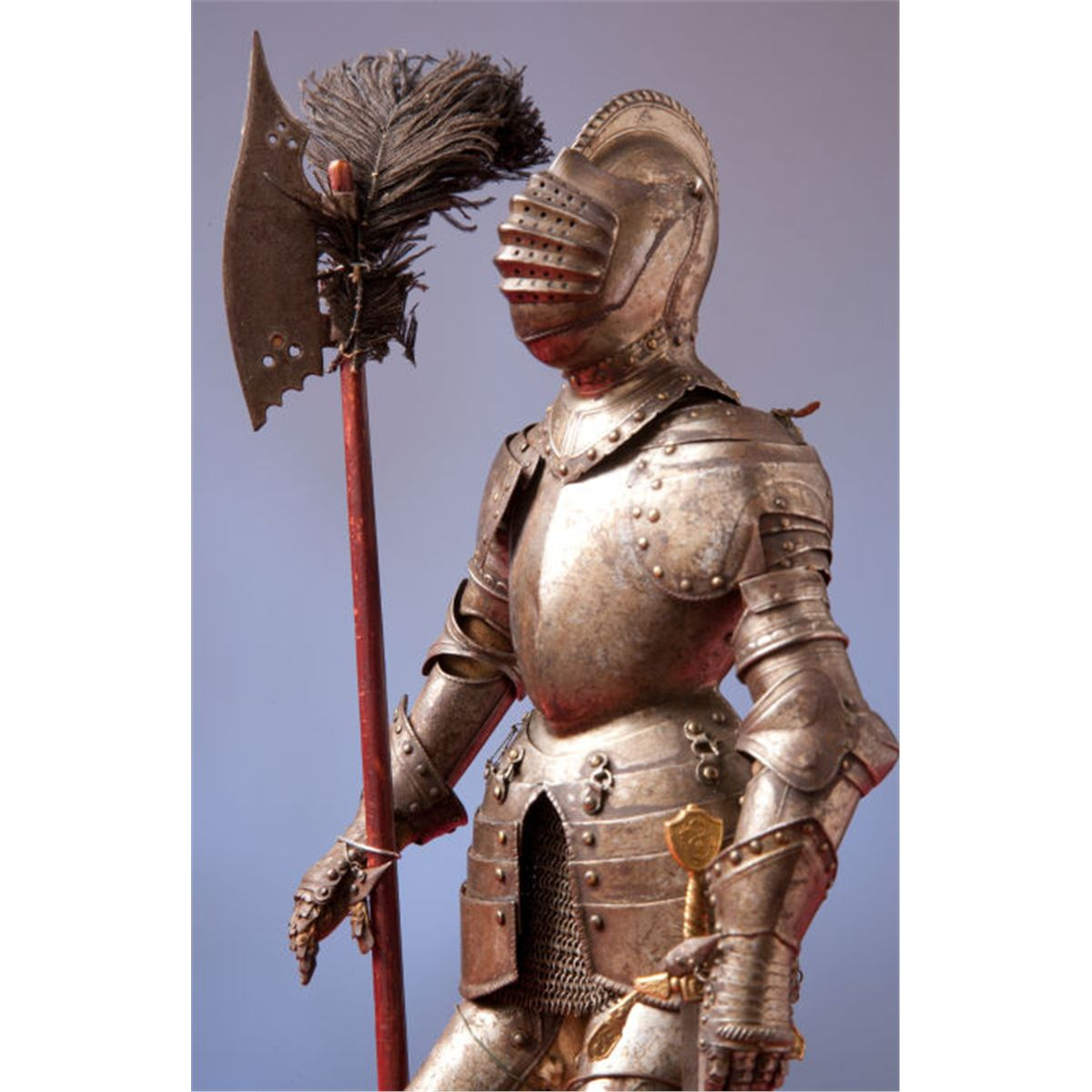 Fine Miniature Suit Of Armor In The 16th Century German Style By Edward Granger Paris Total 1