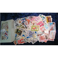 8. Large hoard of approximately 250 Stamps from around the