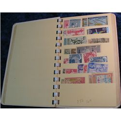 10. Stamp Collector's Stock Book. Including lots of Stamps,