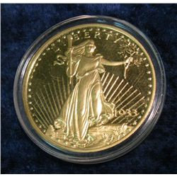 48. Copy of 1933 $20 St. Gaudens Gold Piece.