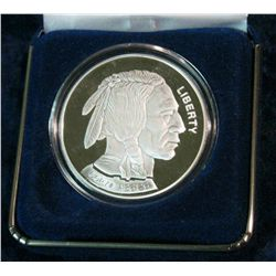 49. 2003 Proof Copy of Buffalo Nickel. 39mm. In case.