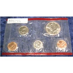 752. 1999 D Cent, Nickel, Dime, & Half Dollar in red cellophane