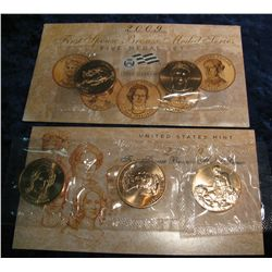 763. 2009 First Spouse Bronze Medal Series Five-Medal Set.