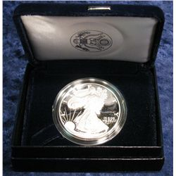 765. 1994 American Eagle Proof Silver Dollar in original case.