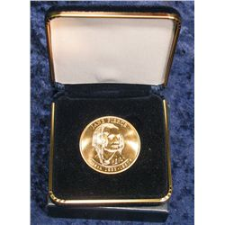 "777. 2010 First Spouse Bronze Medal ""Jane Pierce"""