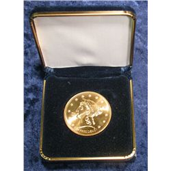 "778. 2010 First Spouse Bronze Medal ""Buchanan's Liberty"""