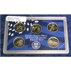 788. 2002 S Statehood Quarter Set in original plastic Mint case.