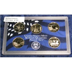 789. 2003 S Statehood Quarter Set in original plastic Mint case.