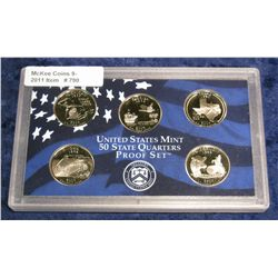 790. 2004 S Statehood Quarter Set in original plastic Mint case.