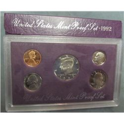851. 1992S US Proof Set. Original as Issued.