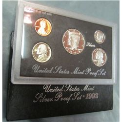 853. 1992S US Silver Proof Set. Original as Issued.