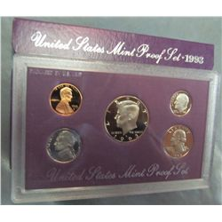 854. 1993S US Proof Set. Original as Issued.