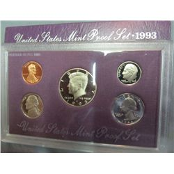 855. 1993S US Proof Set. Original as Issued.
