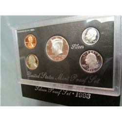 856. 1993S US Silver Proof Set. Original as Issued.