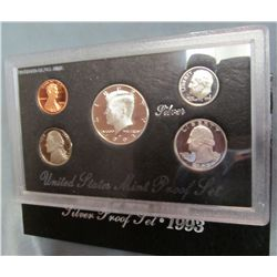 857. 1993S US Silver Proof Set. Original as Issued.