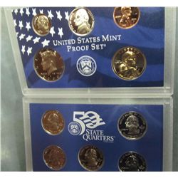 862. 2000S US Proof Set. Original as Issued.