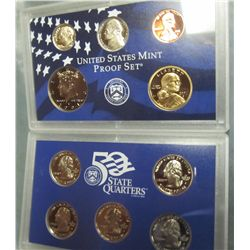 866. 2001S US Proof Set. Original as Issued.