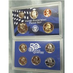 867. 2001S US Proof Set. Original as Issued.