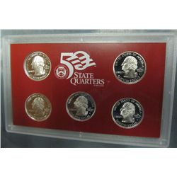 880. 2006S US Silver Proof Quarter Set. Original as Issued.
