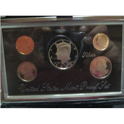 910. 1993 Premier Silver Proof Set. Original as Issued.