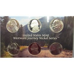 929. 2004 Westward Journey Nickel Set.