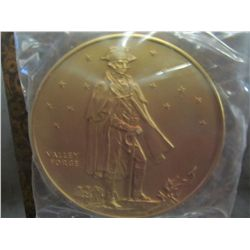 933. 200th Anniversary of the US Flag 78mm Bronze Medal.
