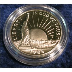 1184. 1986 S Statue of Liberty Half Dollar. Proof.
