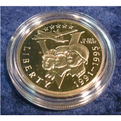 1195. 1993 P World War II Commemorative Proof Half Dollar.