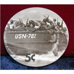 "1212. 2004 ""AAFES"" Plastic token-issued for GI stationed Overseas."